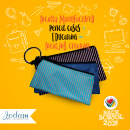 Locally Manufactured Pencil Cases